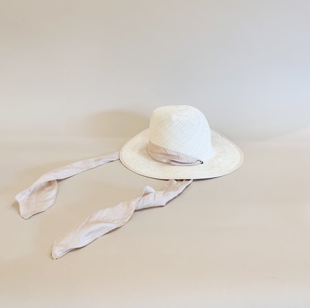 Brookes Bosewell Gobo Panama Straw Hat - Natural