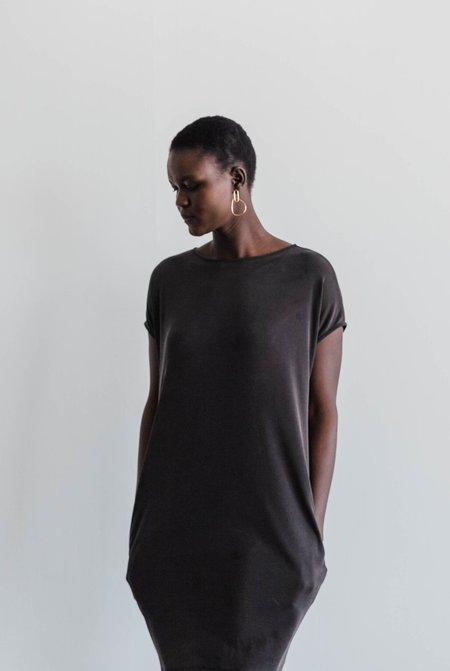 GALERIE.LA Sabbath Cocoon Tunic - washed black