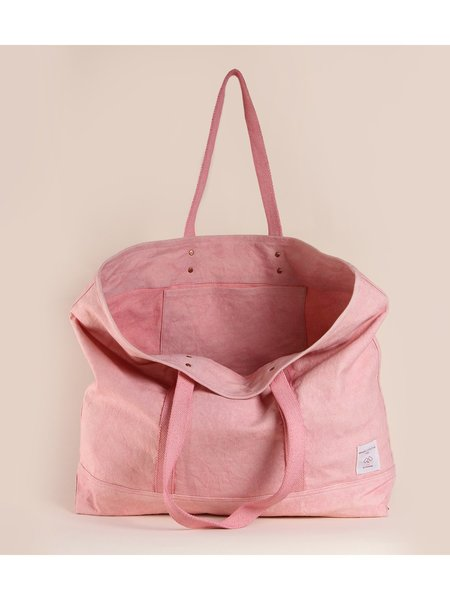 IMMODEST COTTON East West Tote - Pink