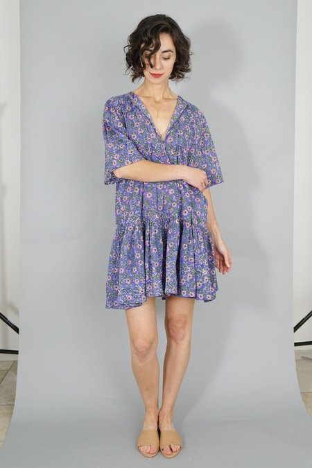 Emerson Fry Isla Dress - Violet Flowers