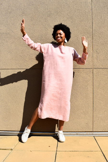 WINSOME Colline Dress - dusty rose