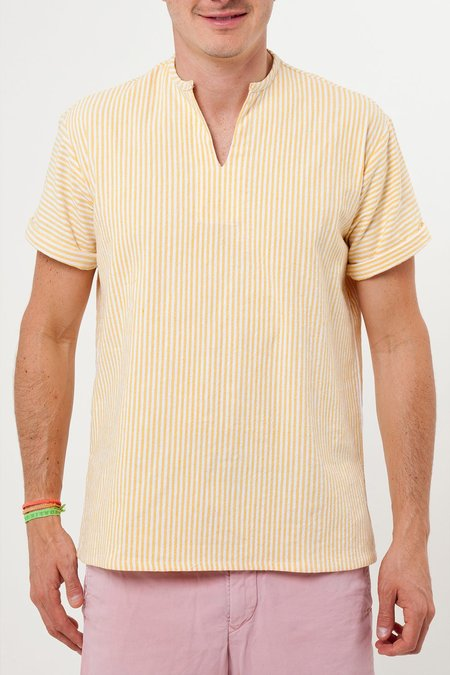 Santa Lupita The Riviera Shirt - Yellow