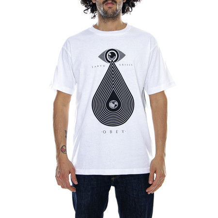 Obey Earth Crisis Tee - White
