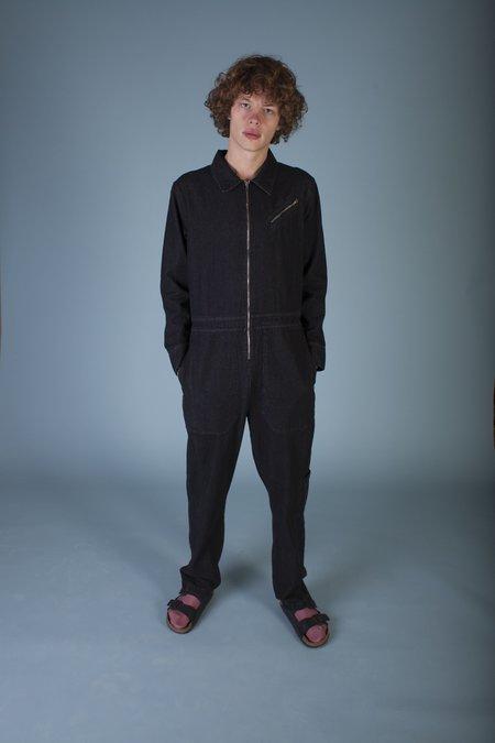 L.F.Markey Chatsbury Boilersuit - BLACK