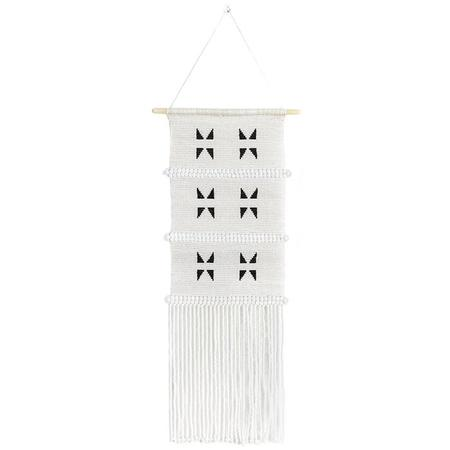 Sidai Designs Triangle Wall Hanging Medium - Black/White