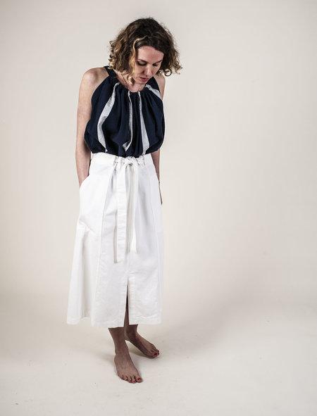 Kloke Haze Denim Wrap Skirt