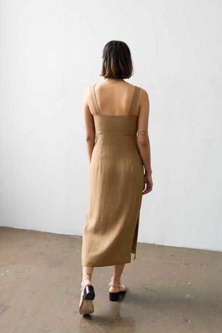 Waltz Bralette Dress - Caramel