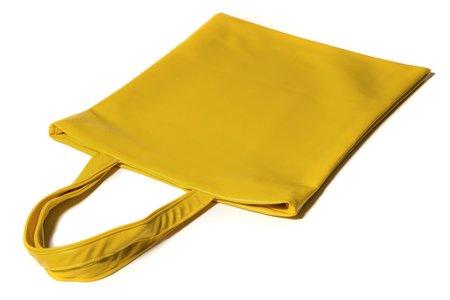 Fashion Rising Collection Vegan Leather Hand Batik Shopper - Yellow/Lime ODLR Print