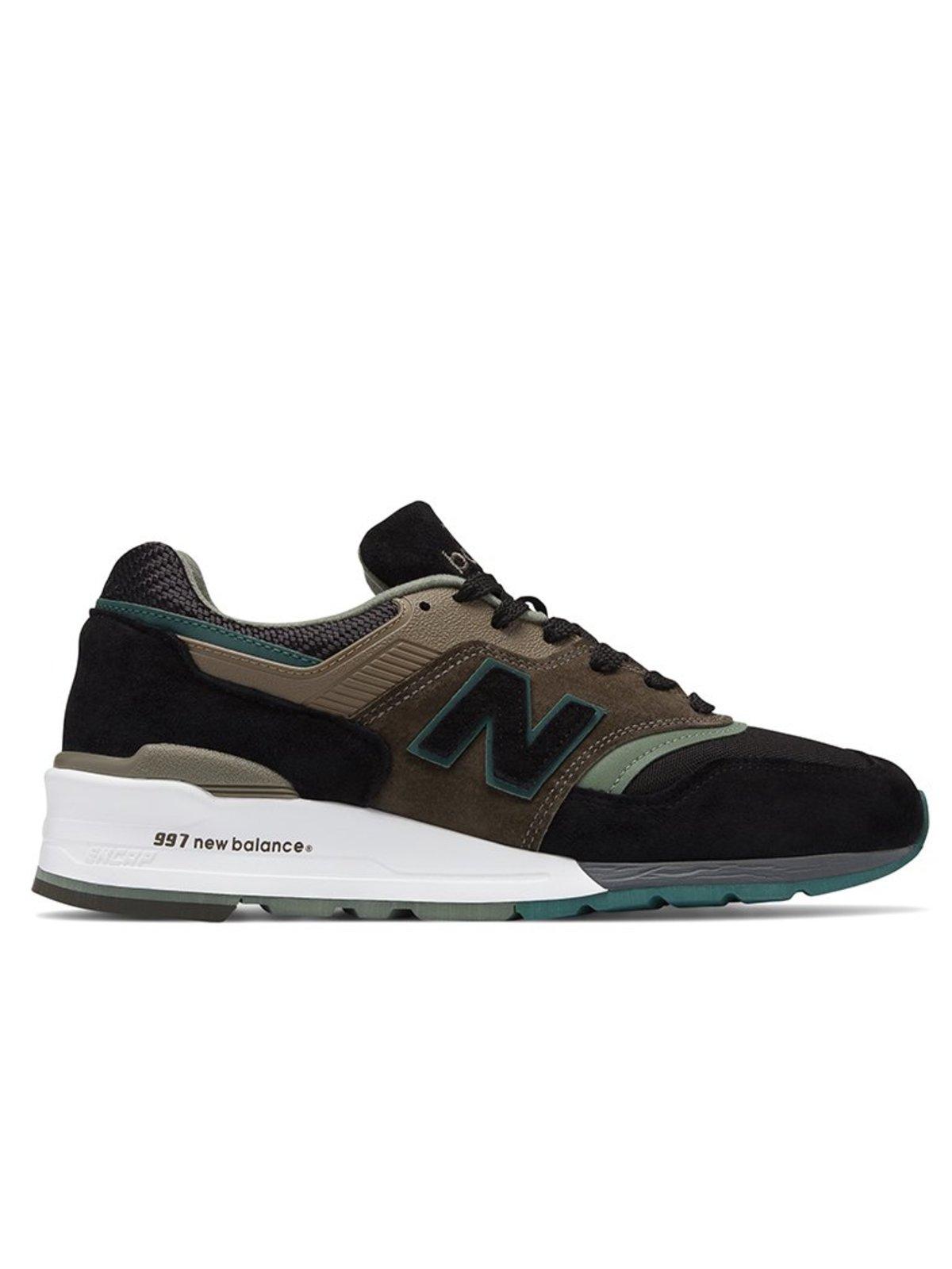 best website 5762d 23ef8 New Balance 997 PAA - Black/Covert Green