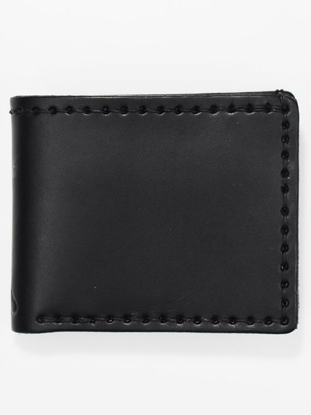 Corter Leather Classic Bifold - Triple Black