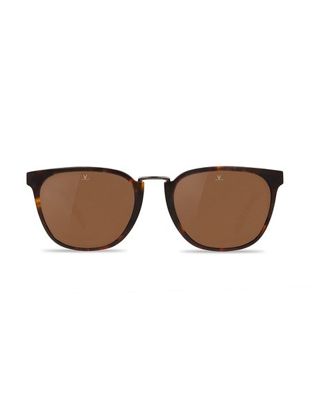 Vuarnet Medium Rectangular Cable Car - Matte Tortoise Frame