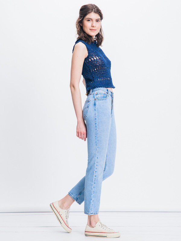 VOZ KNIT CROP TOP