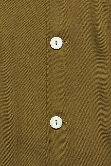 House Of St. Clair Cuba Rayon Shirt - Olive