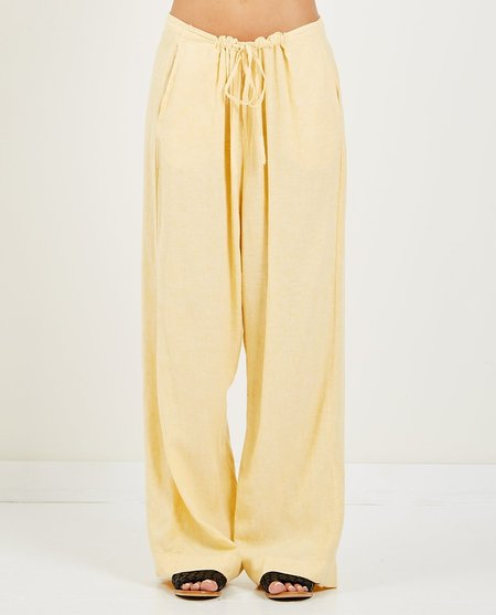 Obey Monte Pant - Yellow