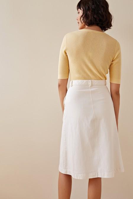 Des Petits Hauts Lulia Skirt - Vanilla