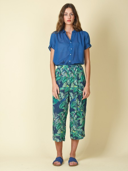 Indi & Cold Loose Trousers - Tropical Print