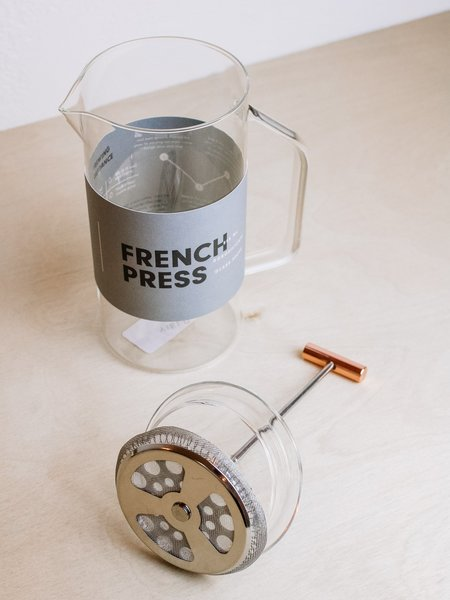 Yield-French Press - Clear