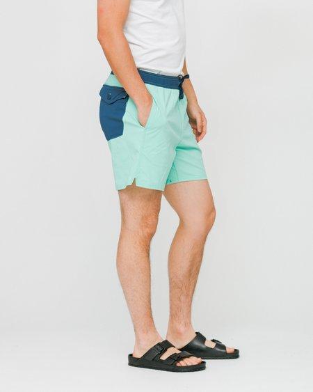 Patagonia Stretch Wavefarer Volley Swimwear Shorts - Vjosa Green