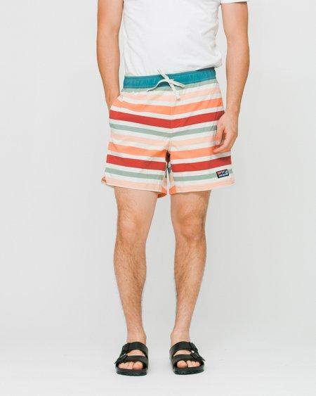 Patagonia Stretch Wavefarer Volley Swimwear Shorts - Water Ribbons