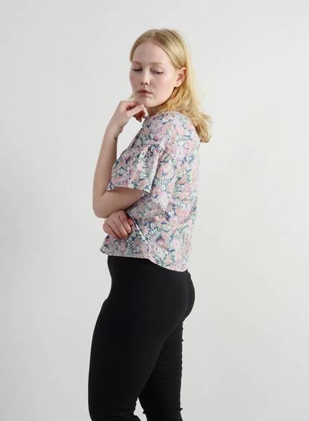 Meg Manchette Top - Floral