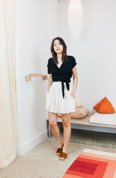 Miranda Bennett Rayon Harlow Short - Palo Santo