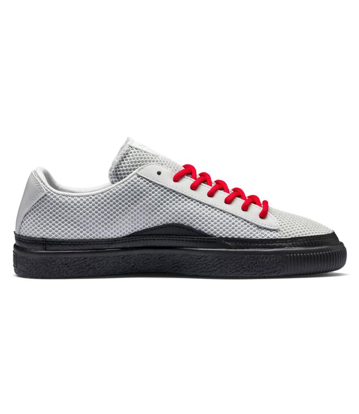 detailed pictures 878bd 32bdc Puma Clyde Han Low Sneaker - Gray