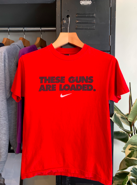 Vintage Nike T-Shirt - red