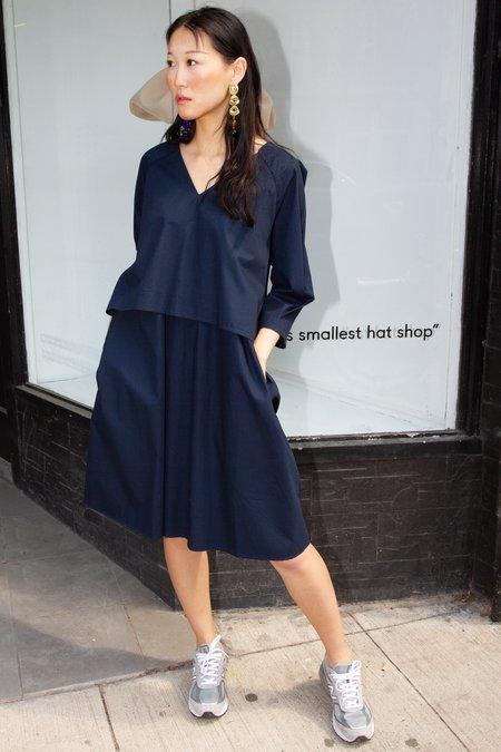Kowtow Colette Dress - Navy