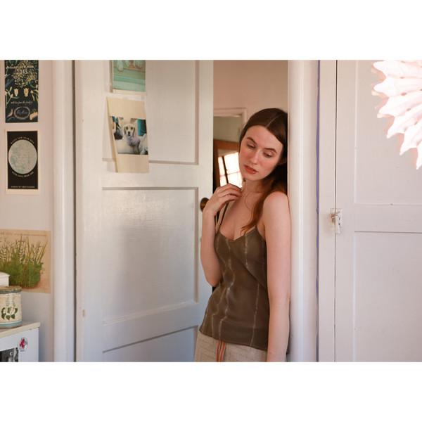 Erica Tanov simone hand-dyed camisole