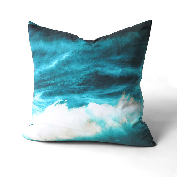 tabitha soren panic beach throw pillow