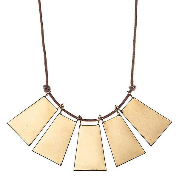 winifred grace trapezoid necklace
