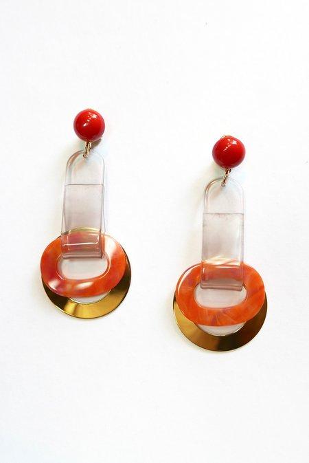 Rachel Comey Somer Earrings - Watermelon