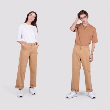 Unisex I AND ME Selvedge Painters Pant - Spice