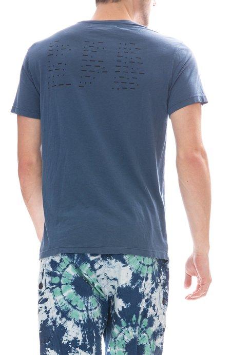 ATELIER & REPAIRS Emergency T-Shirt - Blue