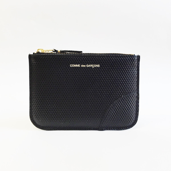 Comme des Garcons - Luxury Group Small Black Zip-up Pouch
