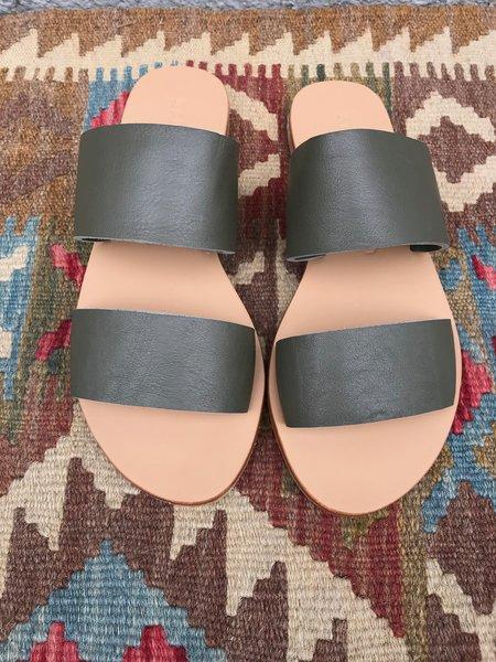 St. Agni Keiko Double Strap Slides - Amy