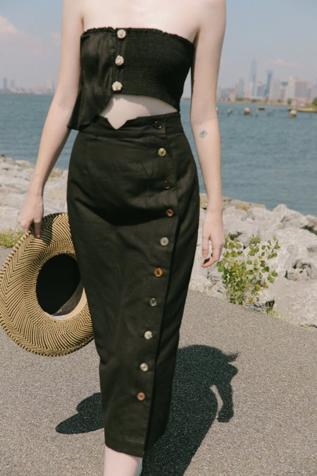 Ajaie Alaie transitional skirt - ink