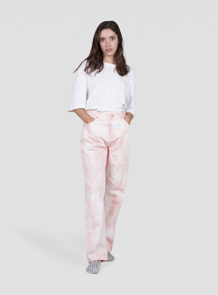 I AND ME Plant Dyed Slim Leg Jeans - Madder