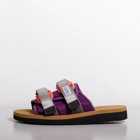 Suicoke MOTO Cab - Purple/Beige