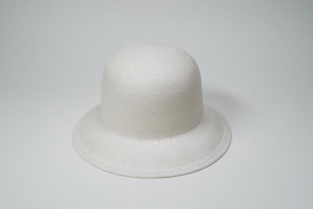 Clyde Woven Bucket Hat - White