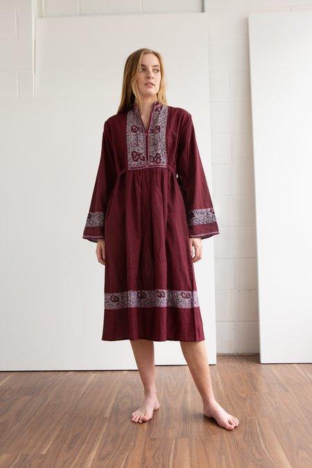 WOLF & GYPSY VINTAGE Dead Stock 1970s Indian Dress