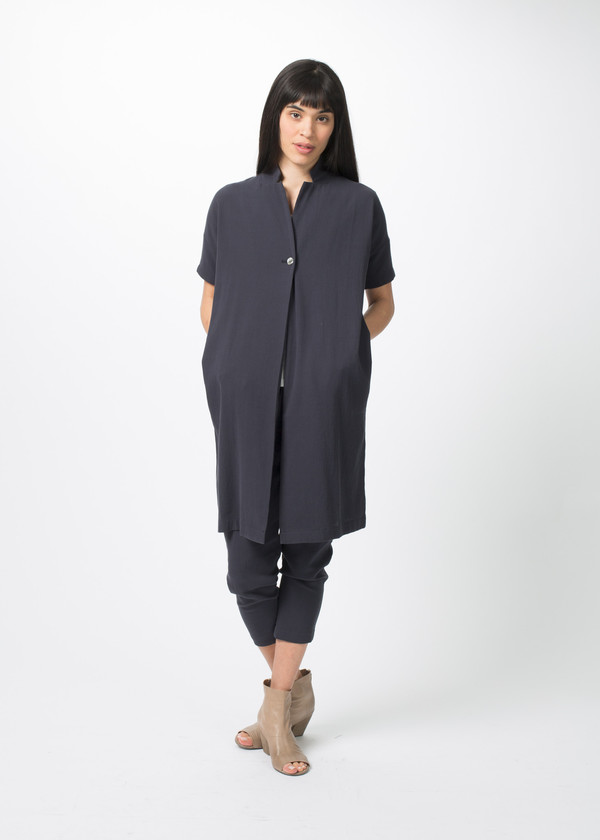 Evam Eva Double Cloth Robe