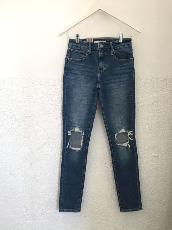 Levis Made & Crafted 721 High Rise Skinny Jean