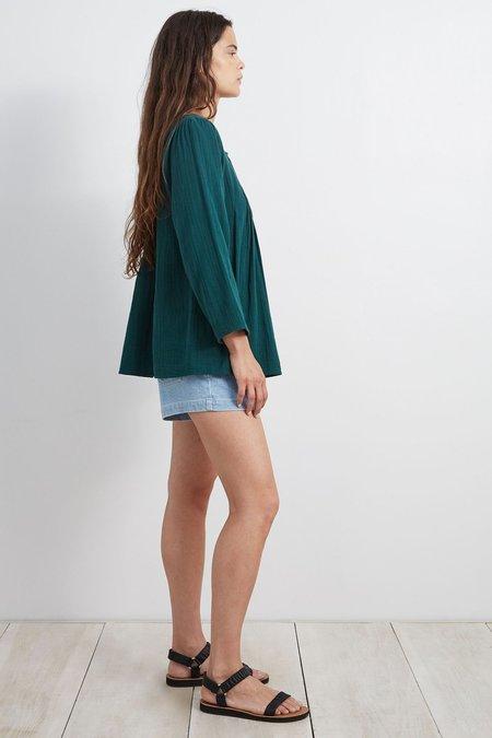 Apiece Apart Las Damas Blouse - green