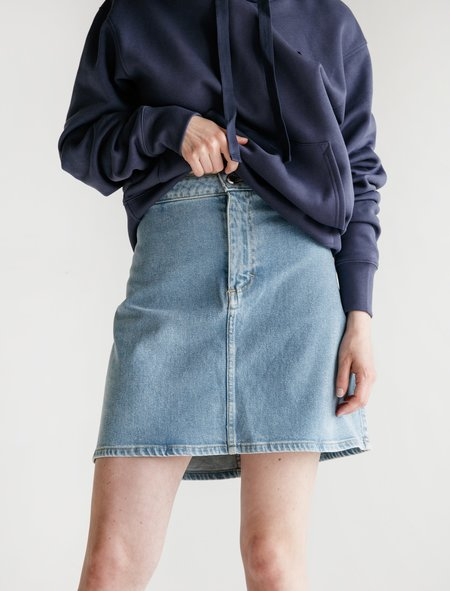 3eae9dd16 ... Eckhaus Latta Denim Skirt - True Blue