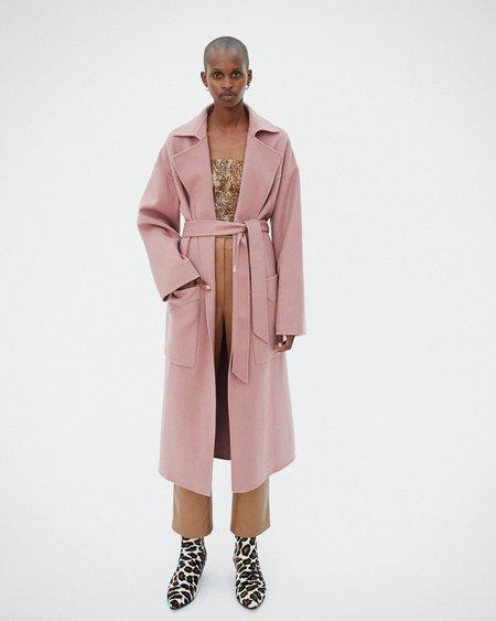 Nanushka ALAMO Robe coat - Dusty pink