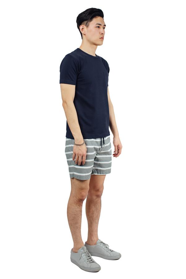 Men's YMC Perforated Pocket Tee Navy