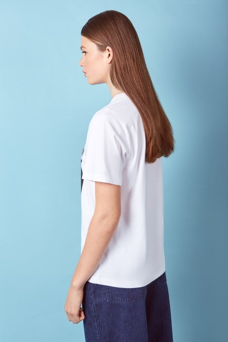 Kowtow Special Edition Single-Use Bag Tee - white
