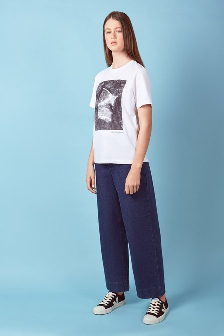 Kowtow Special Edition Single-Use Cup Tee - white