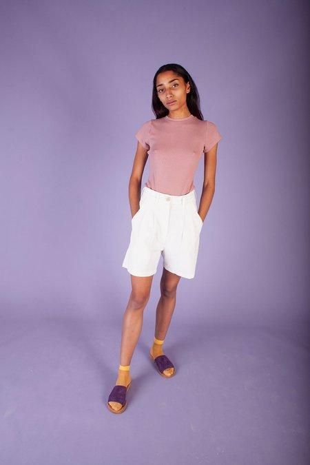 L.F.Markey Henry Shorts - Off White